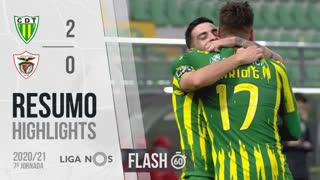 Liga NOS (7ªJ): Resumo Flash CD Tondela 2-0 Santa Clara