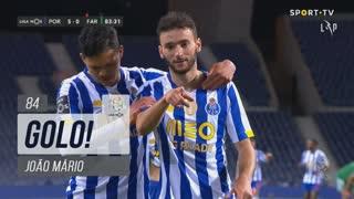 GOLO! FC Porto, João Mário aos 84', FC Porto 5-0 SC Farense