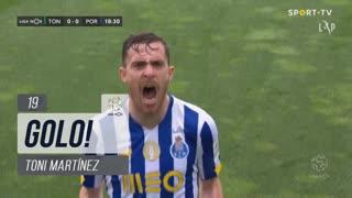 GOLO! FC Porto, Toni Martínez aos 19', CD Tondela 0-1 FC Porto
