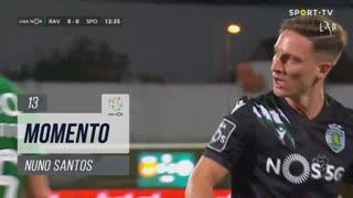 Sporting CP, Jogada, Nuno Santos aos 13'
