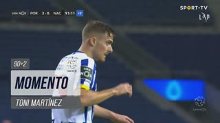FC Porto, Jogada, Toni Martínez aos 90'+2'