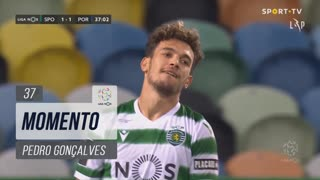 Sporting CP, Jogada, Pedro Gonçalves aos 38'