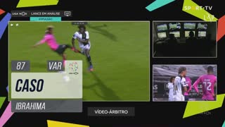Moreirense FC, Caso, Ibrahima aos 87'