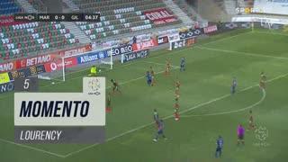 Gil Vicente FC, Jogada, Lourency aos 5'