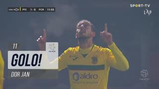 GOLO! FC P.Ferreira, Dor Jan aos 11', FC P.Ferreira 1-0 FC Porto