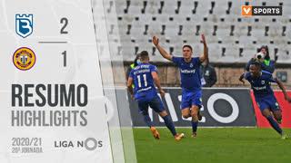 Liga NOS (20ªJ): Resumo Belenenses SAD 2-1 CD Nacional
