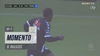CD Nacional, Jogada, B. Riascos aos 90'+3'