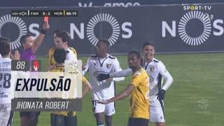 FC Famalicão, Expulsão, Jhonata Robert aos 88'
