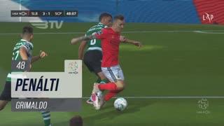 SL Benfica, Penálti, Grimaldo aos 48'