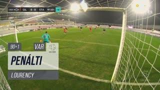 Gil Vicente FC, Penálti, Lourency aos 90'+1'