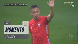 Gil Vicente FC, Jogada, Leautey aos 17'