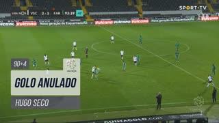 SC Farense, Golo Anulado, Hugo Seco aos 90'+4'