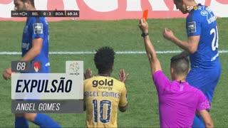 Boavista FC, Expulsão, Angel Gomes aos 68'