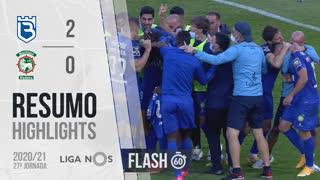 Liga NOS (27ªJ): Resumo Flash Belenenses SAD 2-0 Marítimo M.