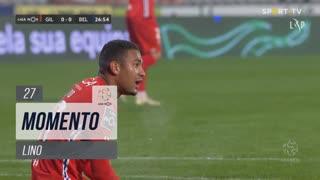 Gil Vicente FC, Jogada, Lino aos 27'