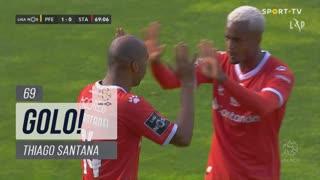 GOLO! Santa Clara, Thiago Santana aos 69', FC P.Ferreira 1-1 Santa Clara