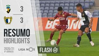 I Liga (4ªJ): Resumo Flash SC Farense 3-3 FC Famalicão