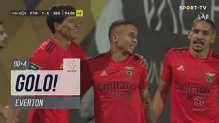 GOLO! SL Benfica, Everton aos 90'+4', Portimonense 1-5 SL Benfica
