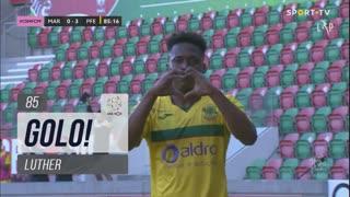 GOLO! FC P.Ferreira, Luther aos 85', Marítimo M. 0-3 FC P.Ferreira