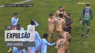 Boavista FC, Expulsão, Javi García aos 74'