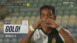 GOLO! SC Farense, Mansilla aos 90'+4', SC Farense 3-3 FC Famalicão