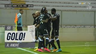GOLO! Vitória SC, A. André aos 68', Moreirense FC 1-2 Vitória SC