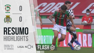 Liga NOS (12ªJ): Resumo Flash Marítimo M. 0-0 Boavista FC