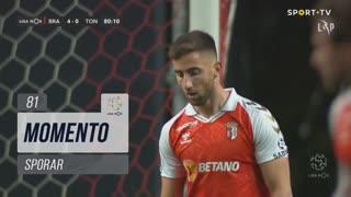SC Braga, Jogada, Sporar aos 81'