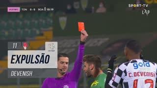 Boavista FC, Expulsão, Devenish aos 11'