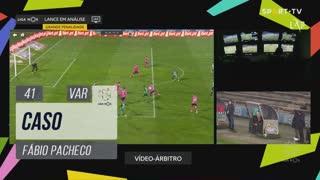 Moreirense FC, Caso, Fábio Pacheco aos 41'