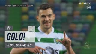 GOLO! Sporting CP, Pedro Gonçalves aos 22', Sporting CP 1-0 Santa Clara