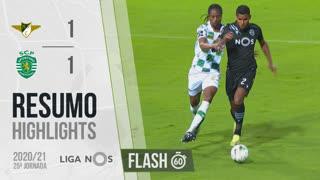 I Liga (25ªJ): Resumo Flash Moreirense FC 1-1 Sporting CP