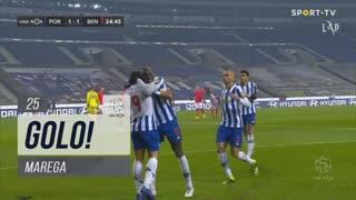 GOLO! FC Porto, Marega aos 25', FC Porto 1-1 SL Benfica