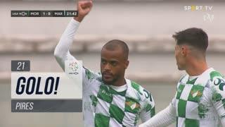 GOLO! Moreirense FC, Pires aos 21', Moreirense FC 1-0 Marítimo M.