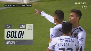 GOLO! FC Famalicão, Riccieli aos 52', Belenenses SAD 1-1 FC Famalicão