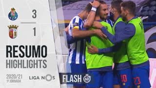 Liga NOS (1ªJ): Resumo Flash FC Porto 3-1 SC Braga