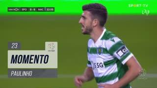 Sporting CP, Jogada, Paulinho aos 23'