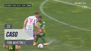 FC Porto, Caso, Toni Martínez aos 33'