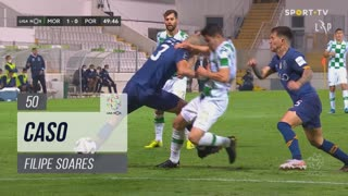 Moreirense FC, Caso, Filipe Soares aos 50'
