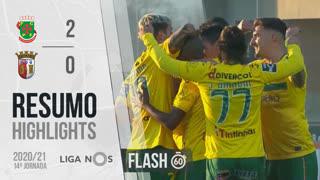 I Liga (14ªJ): Resumo Flash FC P.Ferreira 2-0 SC Braga