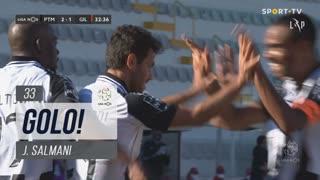 GOLO! Portimonense, J. Salmani aos 33', Portimonense 2-1 Gil Vicente FC