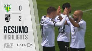 I Liga (8ªJ): Resumo CD Tondela 0-2 Vitória SC