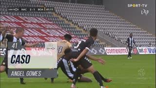 Boavista FC, Caso, Angel Gomes aos 41'