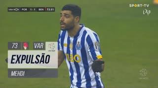 FC Porto, Expulsão, Mehdi aos 73'