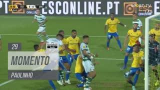 Sporting CP, Jogada, Paulinho aos 29'