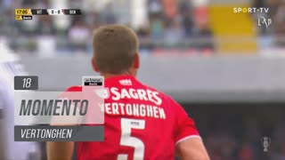 SL Benfica, Jogada, Vertonghen aos 18'