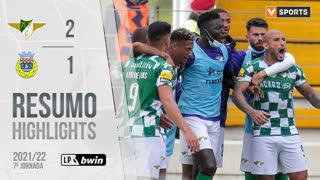 Liga Portugal bwin (7ªJ): Resumo Moreirense FC 2-1 FC Arouca
