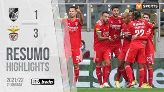 Liga Portugal bwin (7ªJ): Resumo Vitória SC 1-3 SL Benfica