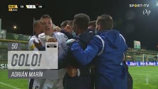 GOLO! FC Famalicão, Adrián Marín aos 50', CD Tondela 1-2 FC Famalicão