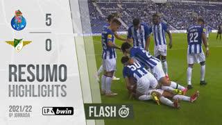 I Liga (6ªJ): Resumo Flash FC Porto 5-0 Moreirense FC